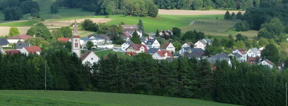 Hoppetenzell Dorf